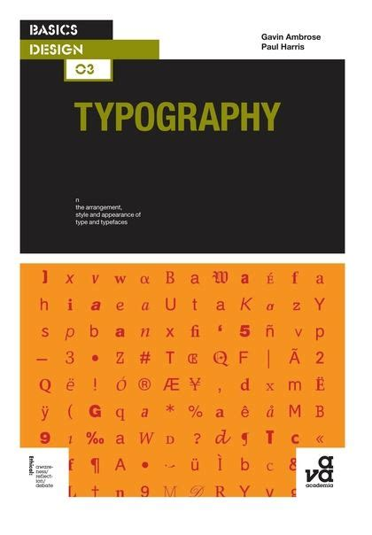 typography basics design paul harris fairchild books