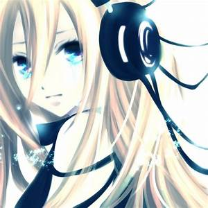 cool anime girl with headphones - Google Search | anime ...