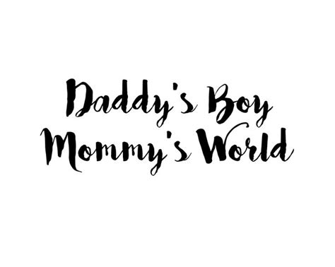Daddy Baby Boy Quotes