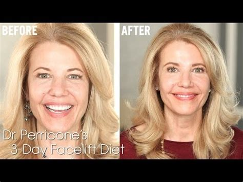 Perricone S 3 Day Facelift Diet To The Letter