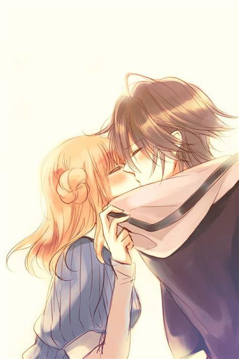 amnesia anime shin and heroine kiss amnesia アムネシア images shin x heroine wallpaper photos