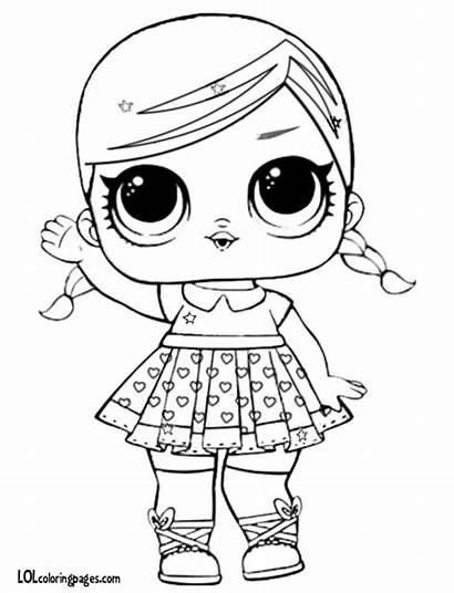 Lol Coloring Doll Pages Surprise Dolls Bb