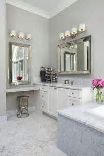 Double Sink Vanity Home Depot by Floating Make Up Vanity Transitional Bathroom Fautt