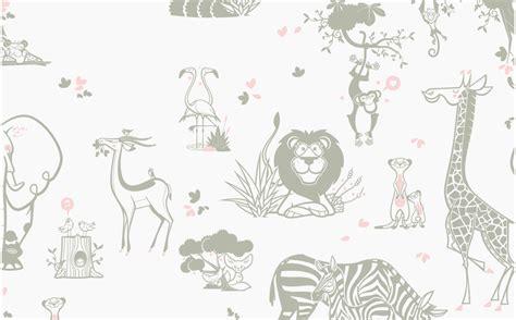 jungle animals wallpaper girls room wall murals