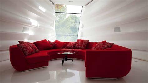 canap demi rond idée déco salon en 30 photos sympas embellir espace