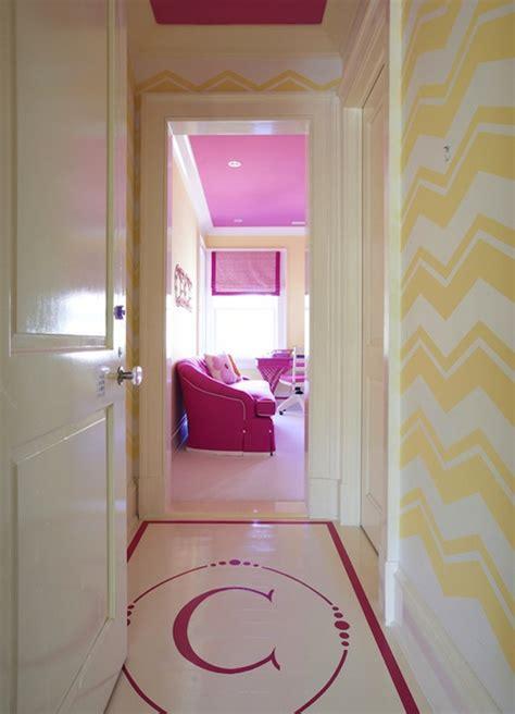 girls room floor l monogrammed floor contemporary 39 s room lynn