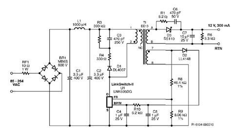 Led Light Bulbs Driver Using Lnkdg Circuit Diagram