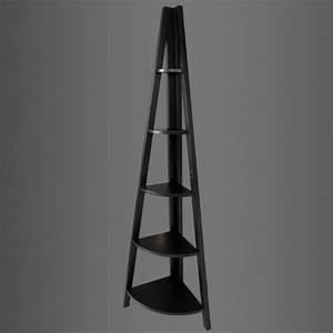 Etagere D Angle Noir : boncoin tag re d 39 angle de 5 niveaux tag re style chelle meuble rangement noir frg20 sch ~ Teatrodelosmanantiales.com Idées de Décoration