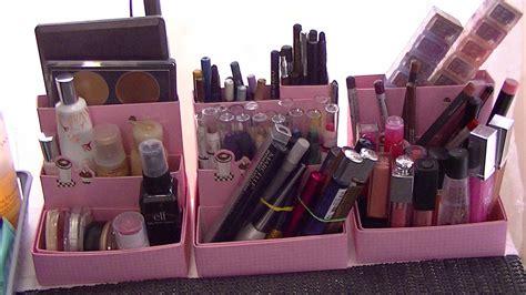 jeux de rangement de maquillage