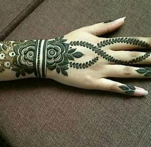 Latest Simple Arabic Mehndi Designs For Eid | FashionGlint