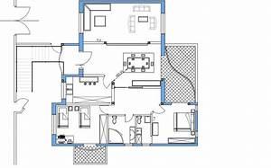 Plan de maison en tunisie plan de maison 4 chambres avec for Plan de maison en tunisie