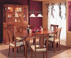 salle a manger classique mobilier salle a diner With salle À manger contemporaineavec chaises classiques salle manger