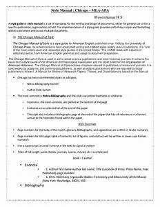Style Manual Assingment  1