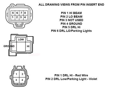 tundra led headlight wiring info  diagrams