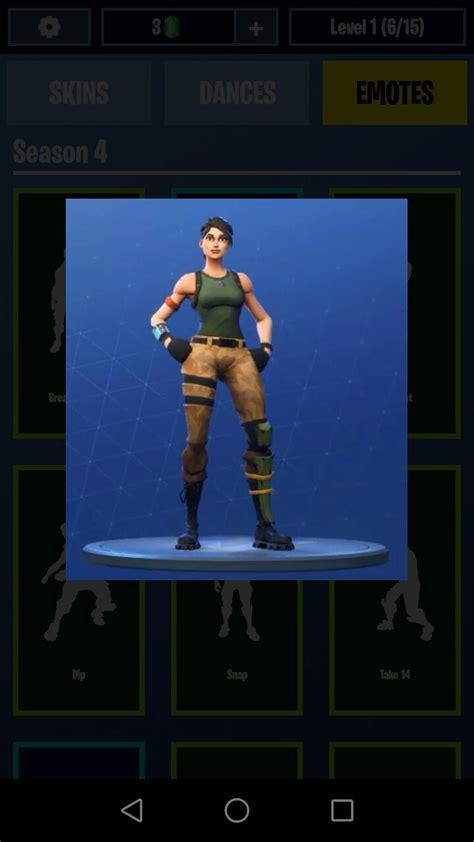 fortnite dances emotes skins