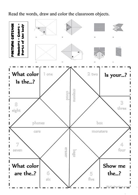 Classroom Objects And Colors Worksheet  Free Esl Printable Worksheets Made By Teachers