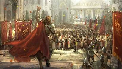 Medieval Fantasy Army Knight Soldier Knights Battle