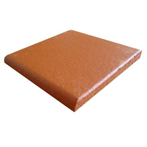 bullnose tiles authentic red round edge bullnose quarry frostproof floor 150x150x12mm wall tiles and floor