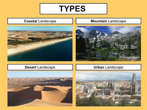 types of landscape types of landscape outdoor goods