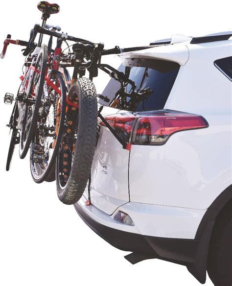 vehicle bicycle rack runway bc3 back of car 3 bike carrier