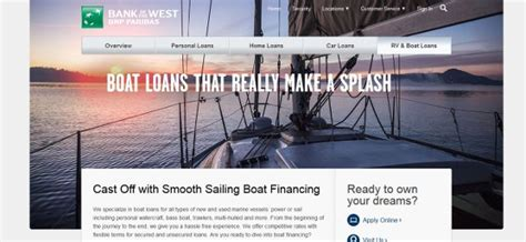 Boat Loans Reviews by Bank Of The West Boat Loans Review 2018 Apply