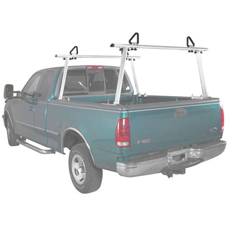 aluminum pickup truck ladder rack fully adjustable