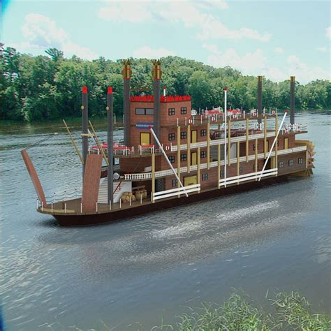 Mississippi Paddle Boat Cruises by Mississippi Paddle Ship Max