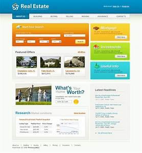 real estate craigslist template - real estate agency website template 20655
