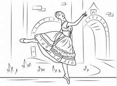 Coppelia Ballet coloring page Free Printable Coloring Pages