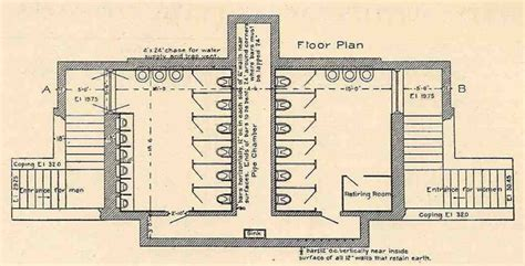public toilet design plans in populated area the materiality of privacy private spaces in public