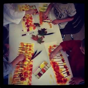 Kindergarten Fall Art Projects