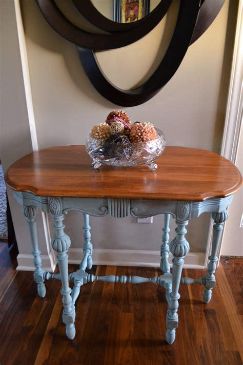 chalk paint annie sloan jacobean sofa console table
