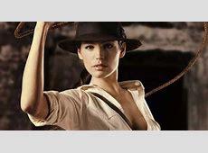 Kelly Brooke looks cracking in Indiana Jones advert