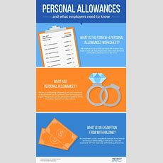 What Employers Need To Know About Employee Personal Allowances