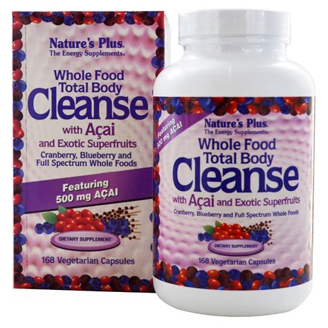 cuisine detox nature 39 s plus whole food total cleanse with acai