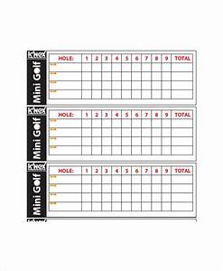 Golf Scorecard Template – 8+ Free Word, Excel, PDF ...