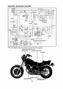 Virago Xv500 Caferacer 1982  U2014 Wiring Diagrams For The Xv500se