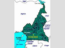 ABC Maps of Cameroon; Flag, Map, Economy, Geography