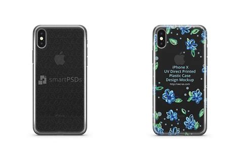 Free mi 10 5g mobile mockup psd & ai. Download iPhone X - UV PC Clear Mobile Case | Mockups PSD ...