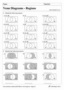 Venn Diagrams Practice Questions   Solutions