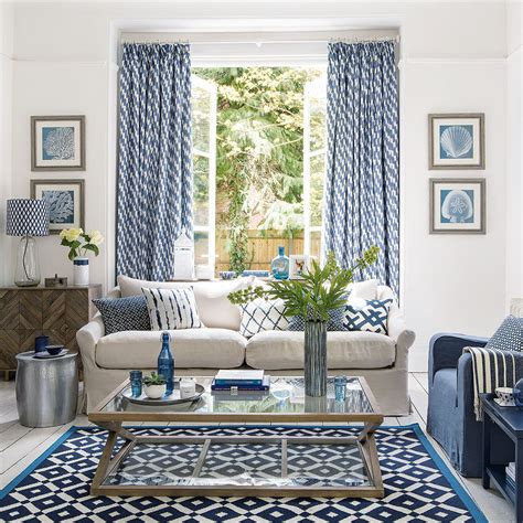 Blue Living Room Ideas  From Midnight To Duck Egg, See