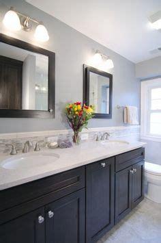 darkening kitchen cabinets bathroom shiplap wall mirrors bathroom with 3102