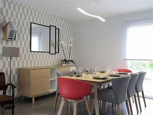 decoration salle a manger scandinave deco salle a manger With meuble de salle a manger avec affiche deco scandinave