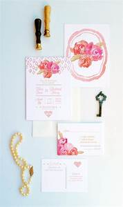 items similar to peonies and rose gold invitations shabby With rose gold wedding invitations etsy