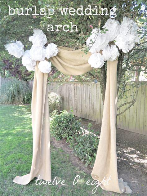 Rustic Backyard Wedding Twelveoeight