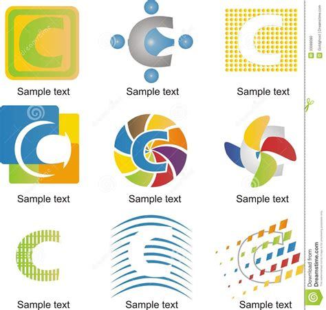 Decorator Pattern C by Logotipo De La Letra C Foto De Archivo Imagen 33088080