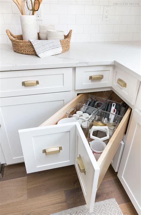 kitchen cabinet storage organization ideas driven