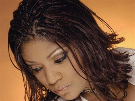 partial braids with loose ends for black women hairstyle