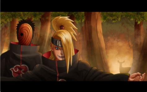 Deidara Naruto Shippuuden Akatsuki Tobi Anime