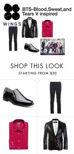 U0026quot;BTS blood sweat and tears MV inspired outfitu0026quot; by raventriple6 liked on Polyvore featuring ...